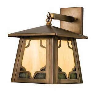 Allwood 1-Light Outdoor Wall Lantern by B..
