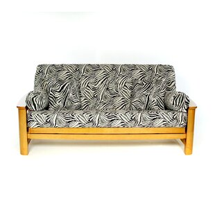 Find the perfect Safari Box Cushion Futon Slipcover by Lifestyle Covers Reviews (2019) & Buyer's Guide