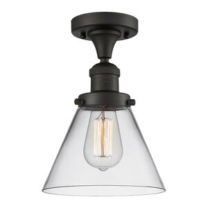 Arbuckle 1-Light Semi Flush Mount by Williston Forge