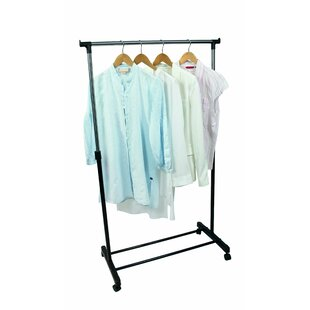 Medlock Mobile Clothes Rack Adjustable By Rebrilliant