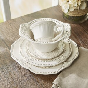 thibodeau 20 piece dinnerware set service for 4 - Dishware Sets