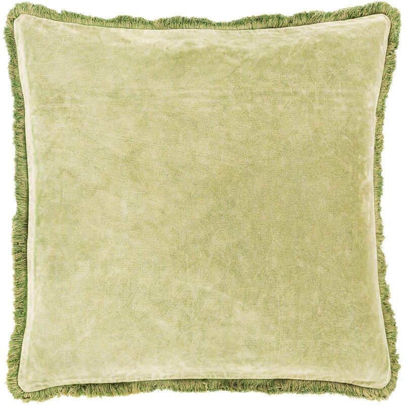 Dominga Cotton Throw Pillow Cover