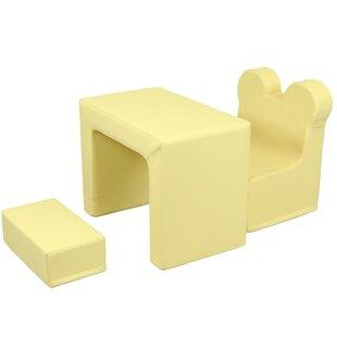 Buy luxury Sweeney Kids 3 Piece Activity Table and Chair Set ByHarriet Bee