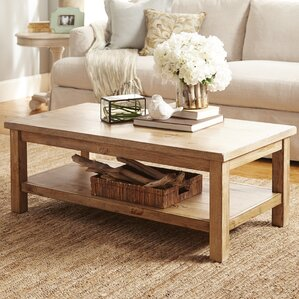 Flores Coffee Table by August Grove