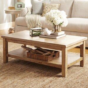Slaton Coffee TableFarmhouse   Rustic Coffee Tables   Birch Lane. Living Room Sofa Tables. Home Design Ideas