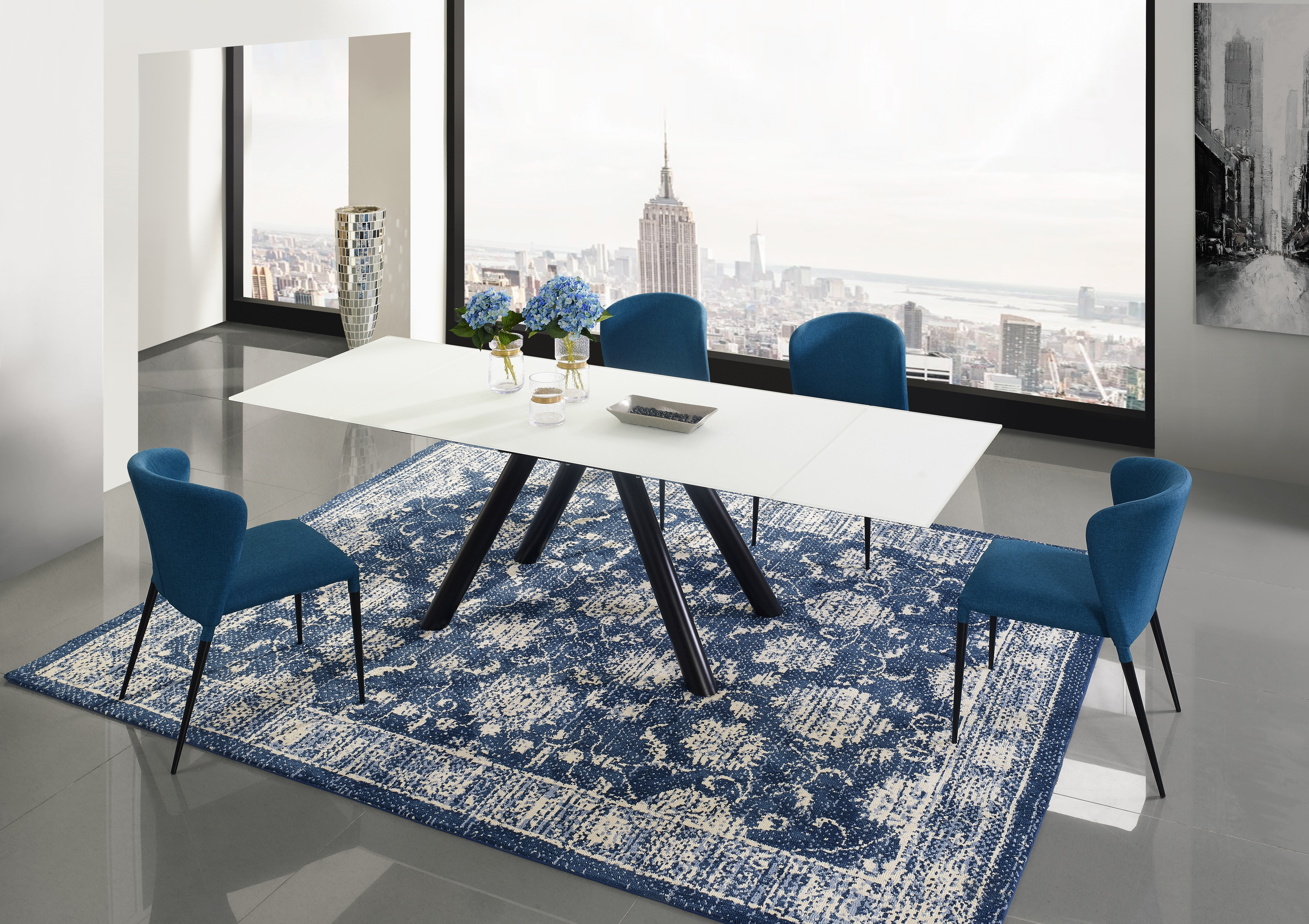 Orren ellis shingleton extendable dining table set wayfair