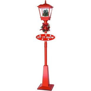 71 musical lantern lamp post by the holiday aisle