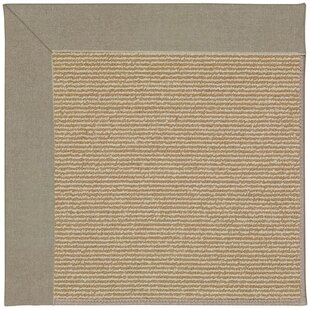 Lisle Machine Tufted Buff/Brown Indoor/Outdoor Area Rug