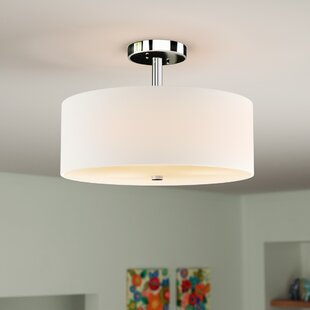Billie 3-Light Semi Flush Mount by Orren Ellis