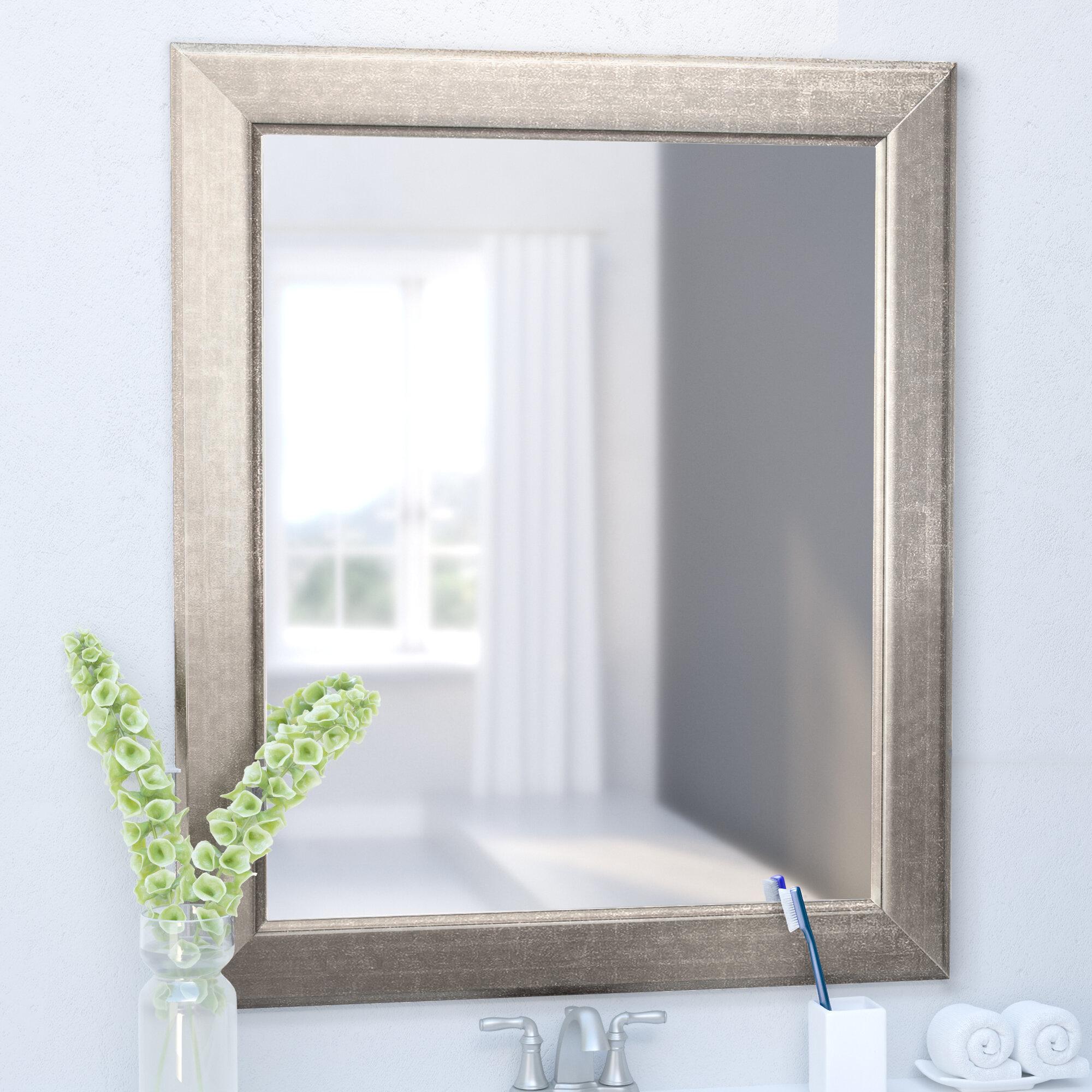 Orren Ellis Garwood Modern Contemporary Subway Design Accent Wall Mirror Reviews Wayfair