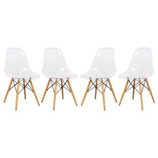 Alcalde Dining Chair (Set of 4) Ivy Bronx
