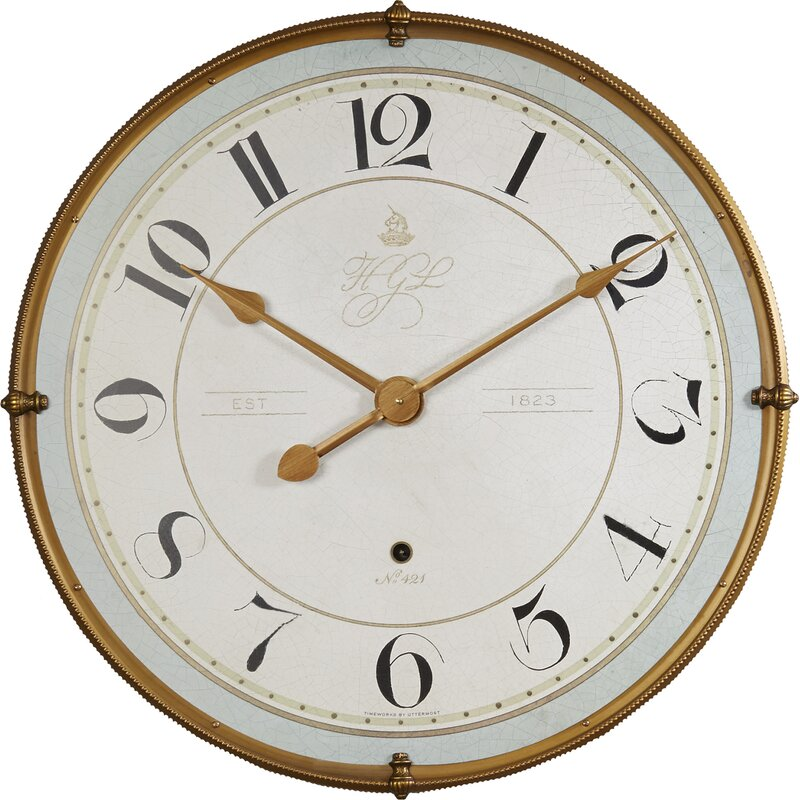 Oversized Vernice 31 5 Wall Clock Reviews Joss Main