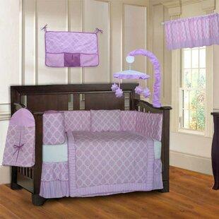 Holbæk Quatrefoil 10 Piece Cotton Crib Bedding Set ByHarriet Bee