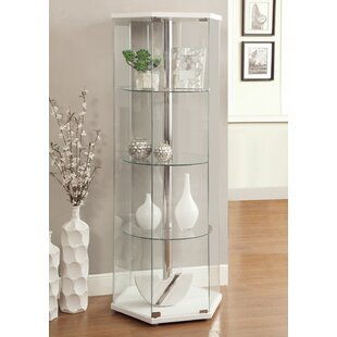 Tempered Glass Curio Cabinet Wayfair