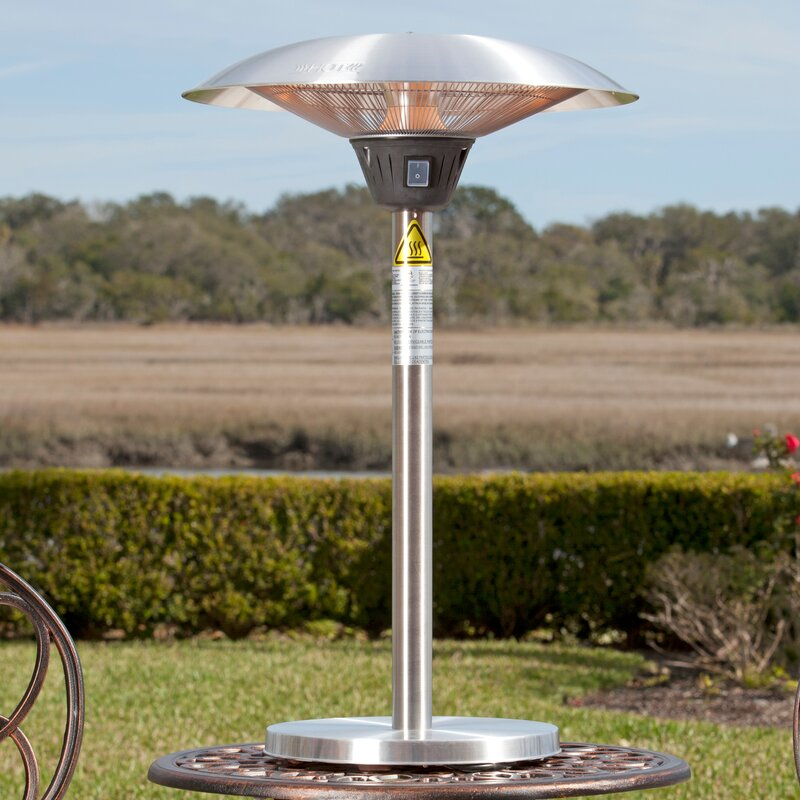 Ordinaire Best Electric Tabletop Patio Heater