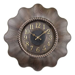 Large Decorative Wall Clock Wayfair