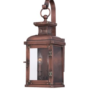 Ronaldo 2-Light Outdoor Wall Lantern By 17 Stories Outdoor Lighting