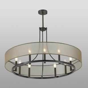 Ghost 9-Light Pendant by ILEX Lighting