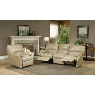 Mandalay Reclining Leather Configurable Living Room Set Omnia Leather