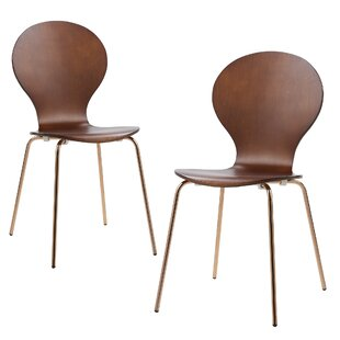 2 Piece Contorno Bentwood Side Chair (Set..