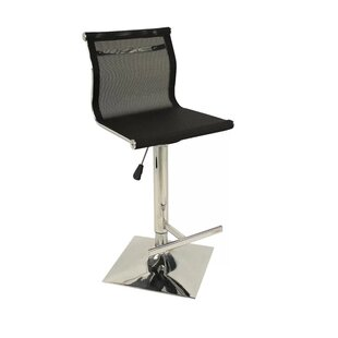 Steinmetz Adjustable Height Swivel Bar Stool