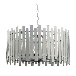 Ivy Bronx Brookline 4-Light Drum Chandelier