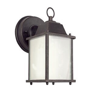 August Grove Terrazas 1-Light Outdoor Wall Lantern