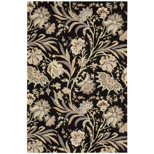 Compare & Buy Elderton Hand-Tufted Black Area Rug ByDarby Home Co