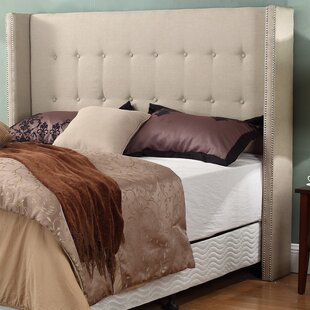 Neosho Upholstered Panel Headboard by House of Hampton