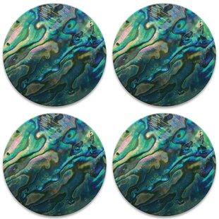 Paua Abalone Shell Square Mosaic Decoration Bowl