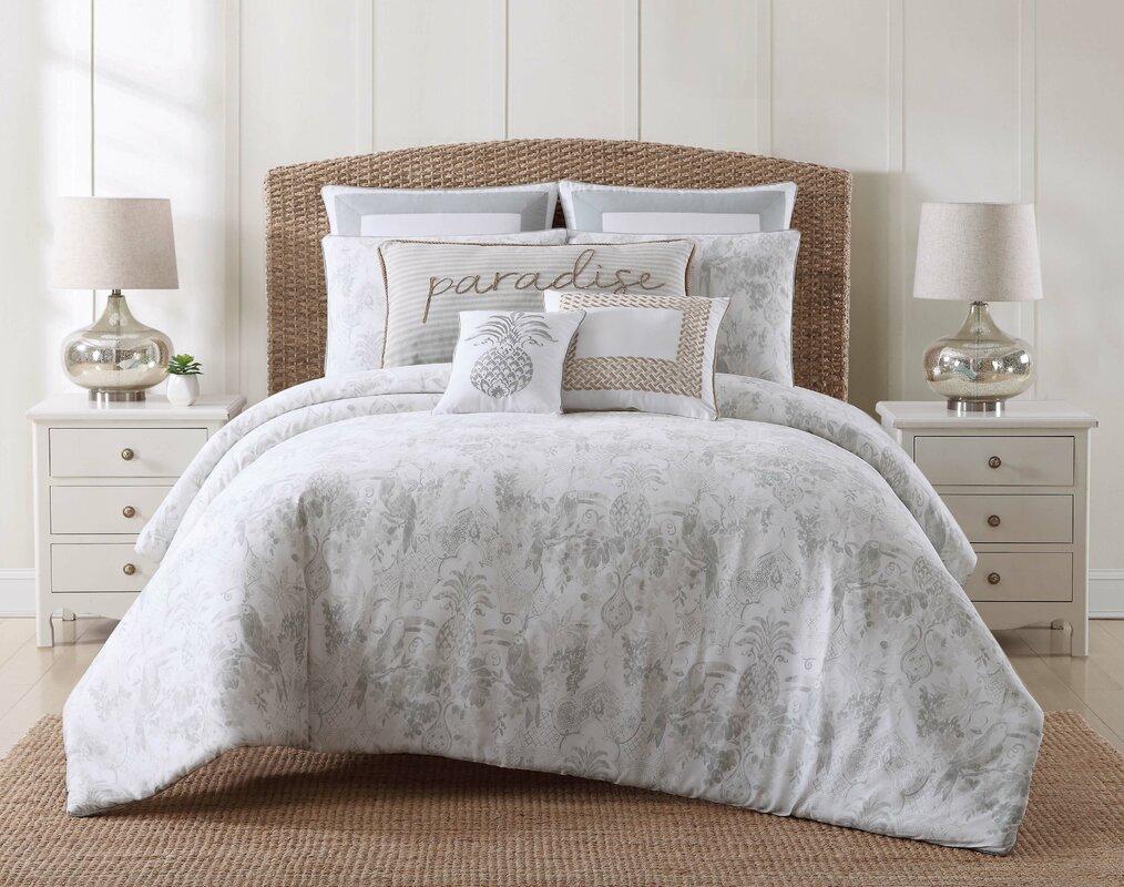 Beachcrest Home Java Coastal Comforter Set & Reviews | Wayfair