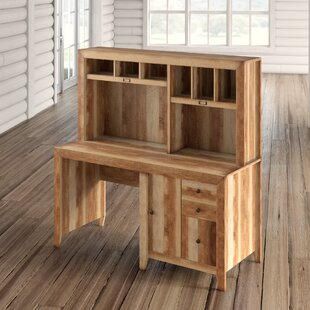 Affordable Price Riddleville Desk with Hutch By Greyleigh