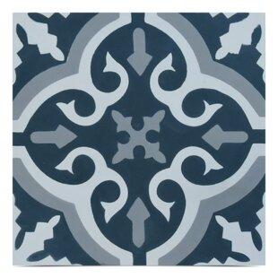 Navy Blue Floor Tile   Wayfair