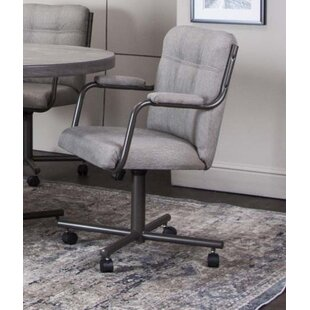 Coupon Cecere Upholstered Dining Chair by Red Barrel Studio Reviews (2019) & Buyer's Guide