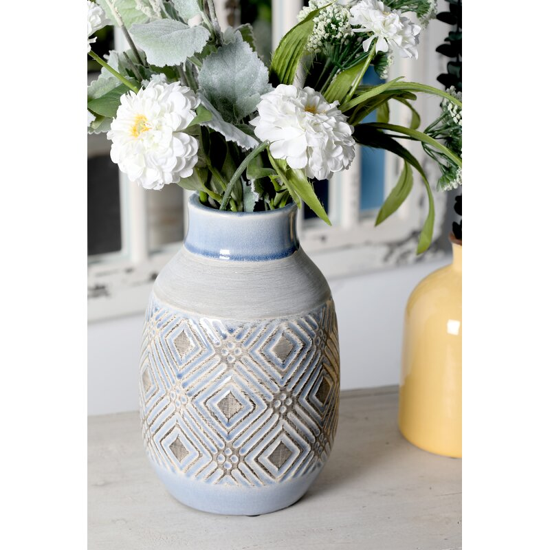 Isom Geometric Weave Table Vase Reviews Joss Main