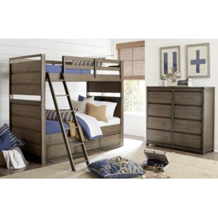Big Sky by Wendy Bellissimo Twin over Twin Bunk Bed by Wendy Bellissimo by LC Kids