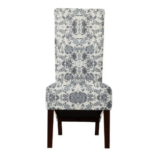 Langley Street Ramon Magic Fabric Parsons Chair (Set of 2)