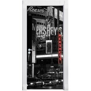 Famous Chocolates In New York Door Sticker By East Urban Home