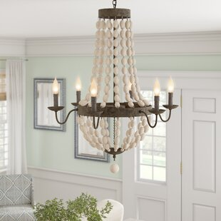 Bargas 6-Light Empire Chandelier by Bungalow Rose