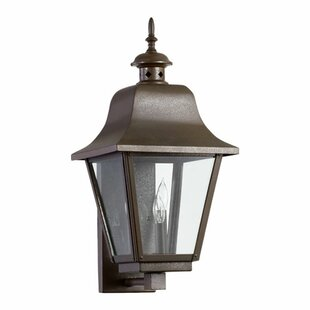 Compare prices Irina 3-Light Outdoor Sconce By Alcott Hill