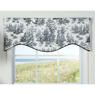Karlyn Toile 50 Window Valance by August Grove