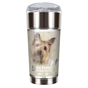 Howard Robinson's Cairn Terrier 24 oz. Stainless Steel Travel Tumbler
