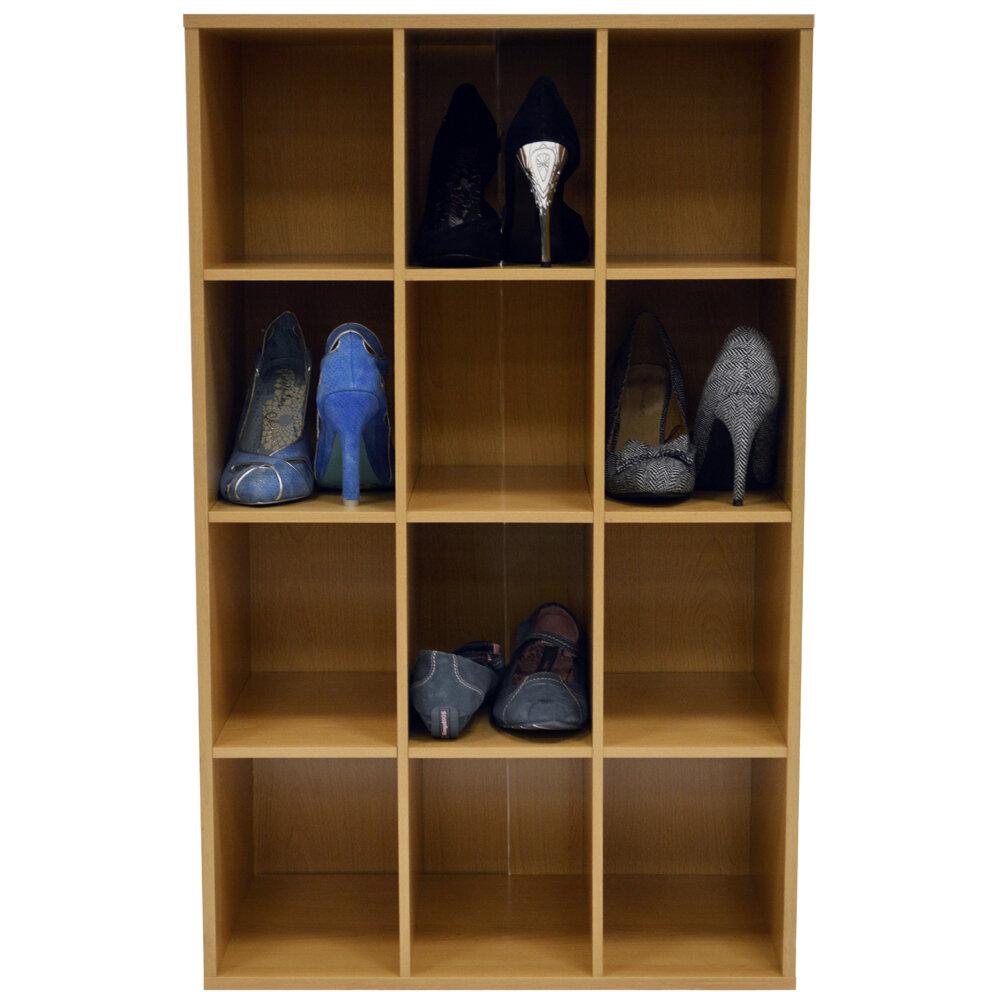 Schon House Additions Stapelbares Schuhregal Für 12 Paar Schuhe U0026 Bewertungen |  Wayfair.de