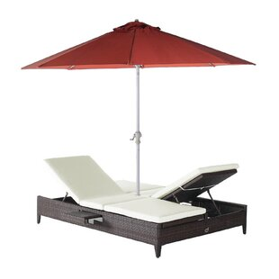 Cephas Double Chaise Lounge
