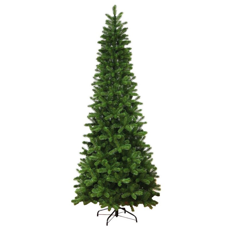 Next Slim Christmas Tree: The Holiday Aisle Slim Quick-Shape Green Fir Artificial