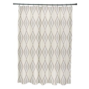Diamond Single Shower Curtain