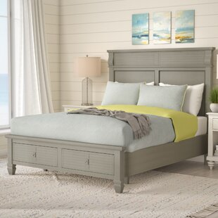 Vasilikos Antique Storage Platform Bed