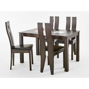 Angarano Dining Set With 4 Chairs By ClassicLiving