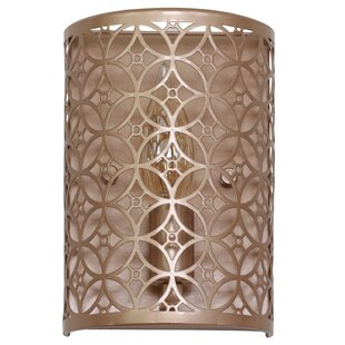 Find the perfect Ames Laser Cut 1-Light Flush Mount By House of Hampton