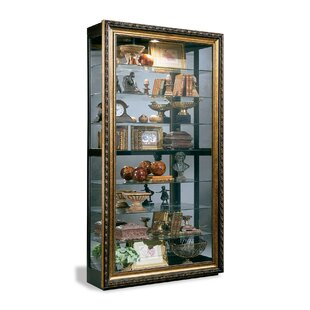 Renoir Museum Lighted Curio Cabinet by Philip Reinisch Co.